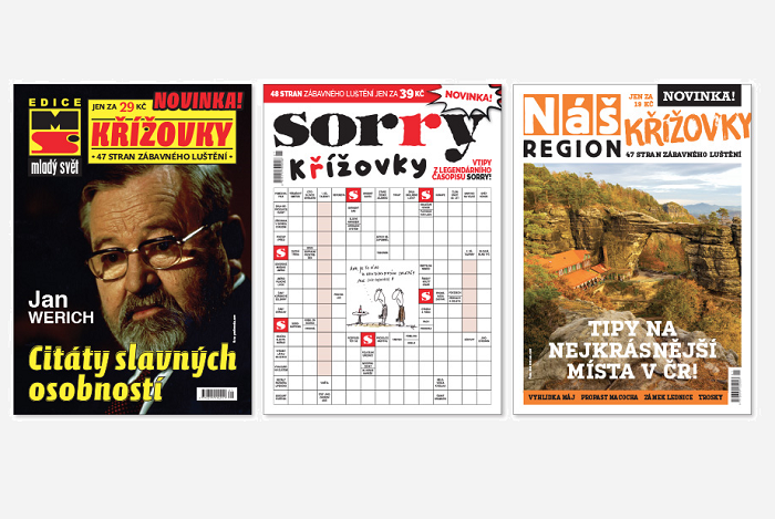 Nové křížovkářské tituly vydavatelství A 11, zdroj: A 11