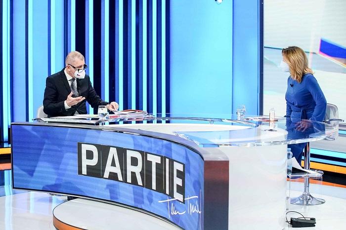 Předseda vlády Andrej Babiš v pořadu Parte Terezie Tománkové, zdroj: FTV Prima