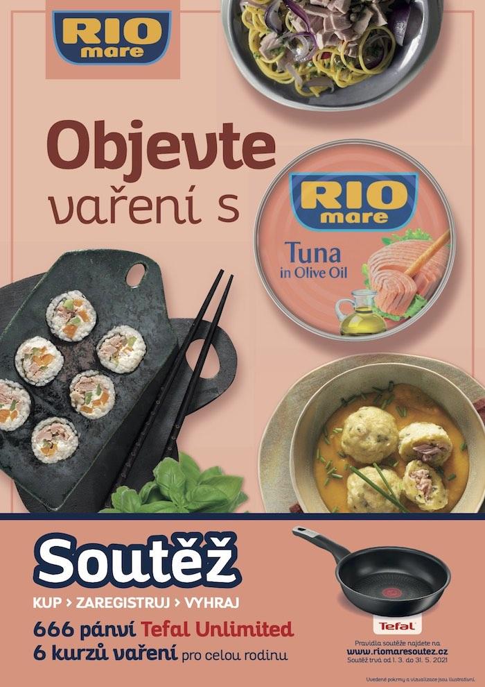 Vizuál k jarní kampani značky Rio Mare, zdroj: Bolton Czechia