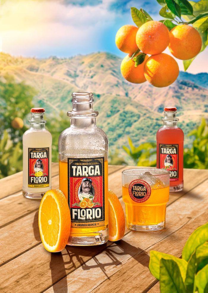 Klíčový vizuál k uvedení značky Targa Florio, zdroj: Kofola ČS