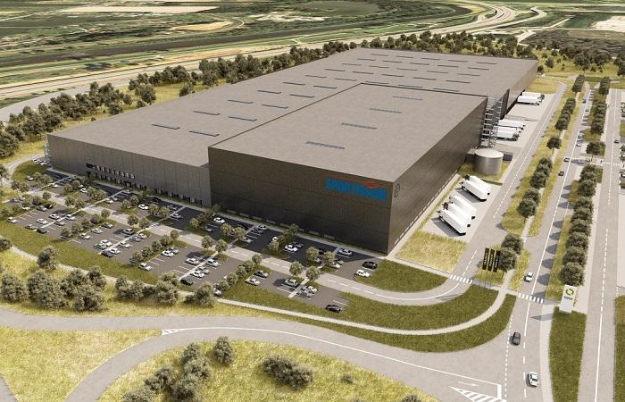 Aktuálně staví firma obří sklad v Ostravě, zdroj: Sportisimo