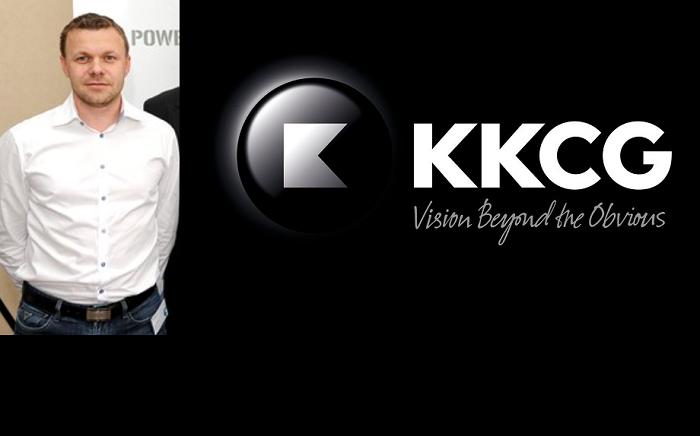 Filip Doubek, zdroj: Flemedia, logo KKCG, zdroj: KKCG