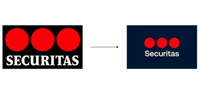 Změna loga značky Securitas, zdroj: Securitas