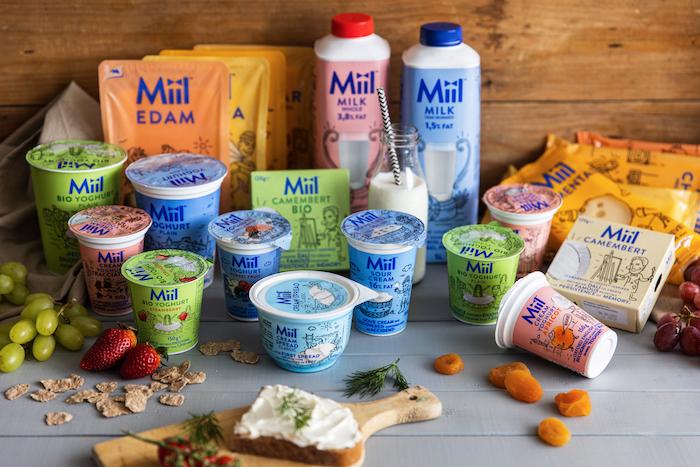 Nová privátní značka mléčných produktů Miil, zdroj: Rohlík