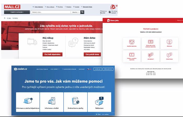 S pomocí Message OK se Mall.cz nebo Dáme jídlo podařilo zefektivnit komunikaci se zákazníky, zdroj: MessageOK