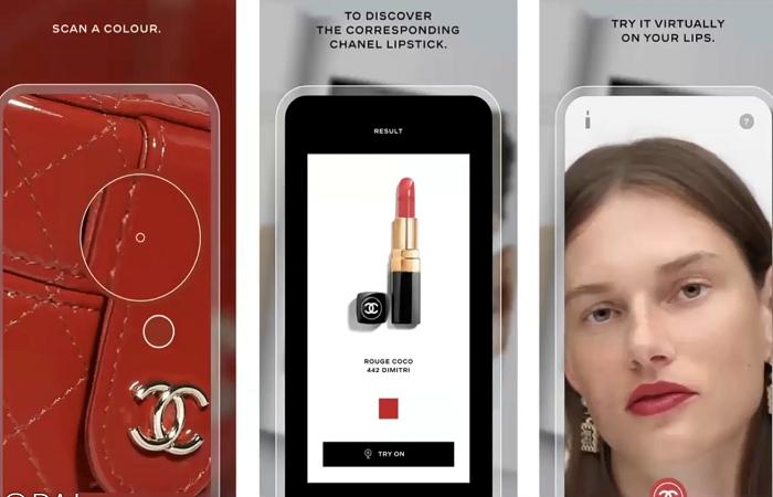 Chanel umístil do výlohy aplikaci, přes kterou si vyberete a rovnou online koupíte rtěnku, zdroj: Popai UK&Ireland