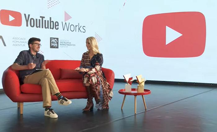 Vyhlášením výsledků provedli Janek Rubeš a Marie Krátká, Agency/Creative Lead Google CZ/SK