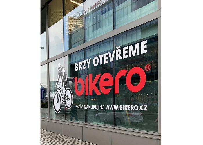 Nová prodejna na Praze 4 otevřela v březnu, ale fungnuje zatím jako výdejna, zdroj: Bikero