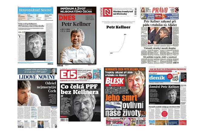 Titulní strany deníků v úterý 30.3. 2021