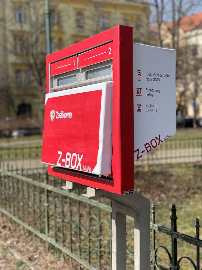 Z-Box Mini, zdroj: Zásilkovna