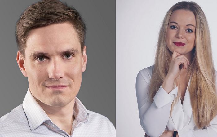 Martin Hanzal, Monika Hořínková, zdroj: CNC