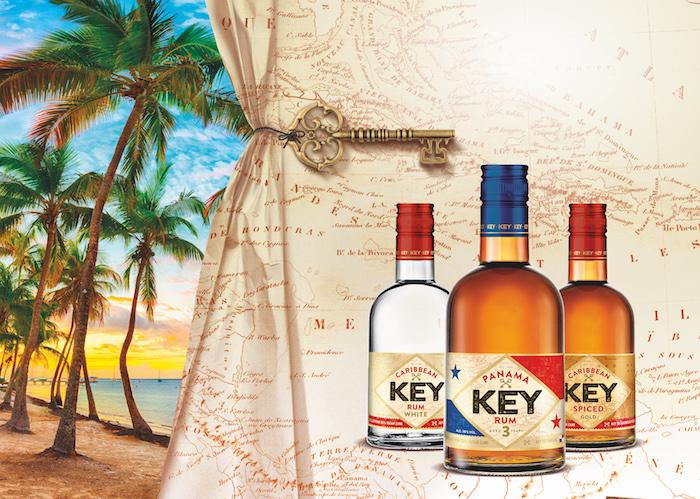 Key rum přichází v nové lahvi, zdroj: Stock Plzeň-Božkov