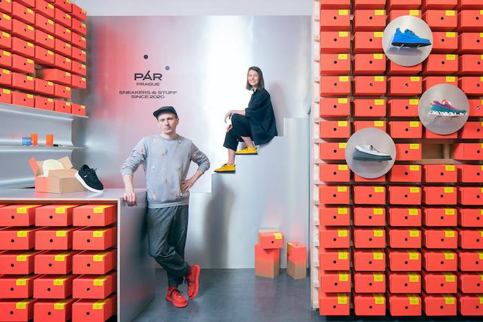 Jan Kloss a Darina Zavadilová uvádí na trh vlastní značku Pár, zdroj: Pár.
