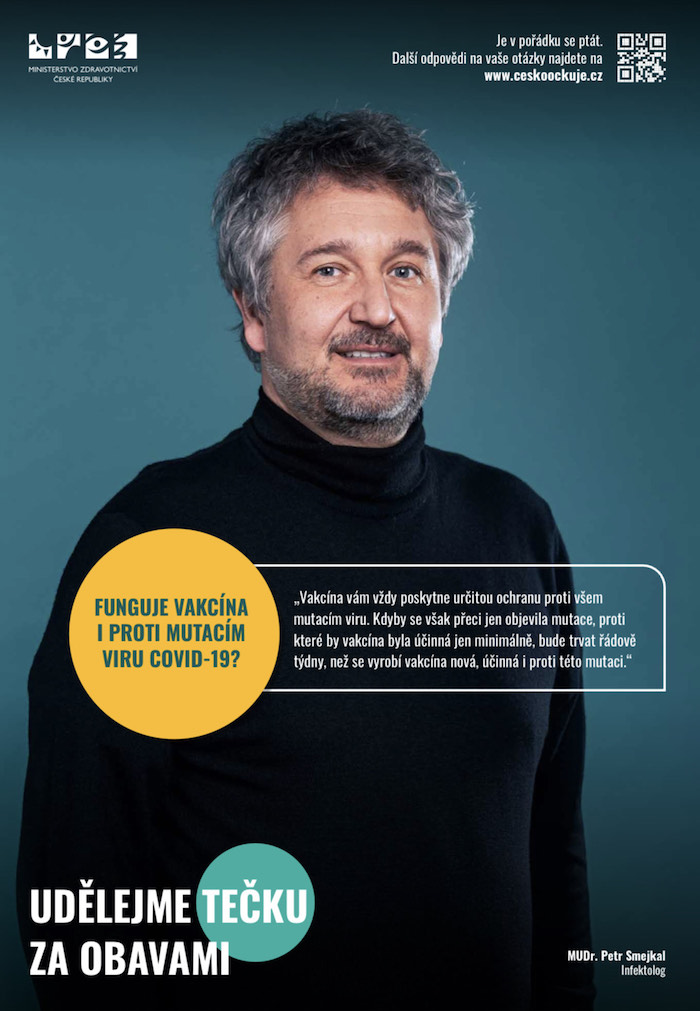 Tváří je i epidemiolog Petr Smejkal, zdroj: Cesta ven.