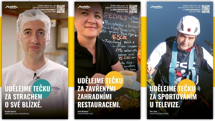 Ukázka z adaptace kampaně firmou Mondelēz, zdroj: Cesta ven