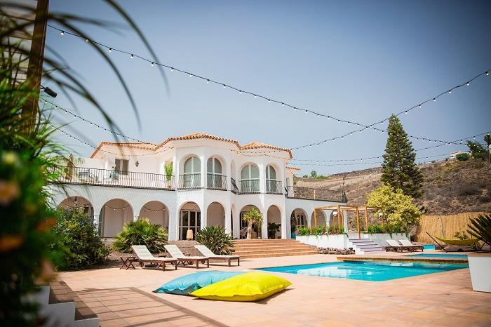 Vila, ve které se bude natáčet pořad Love Island, zdroj: TV Nova