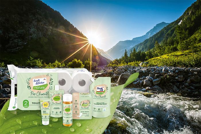 Produkty z řady Pro Climate, zdroj: Dm drogerie markt
