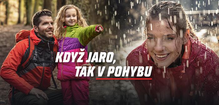 Klíčový vizuál jarní kampaně Sportisima, zdroj: Sportisimo