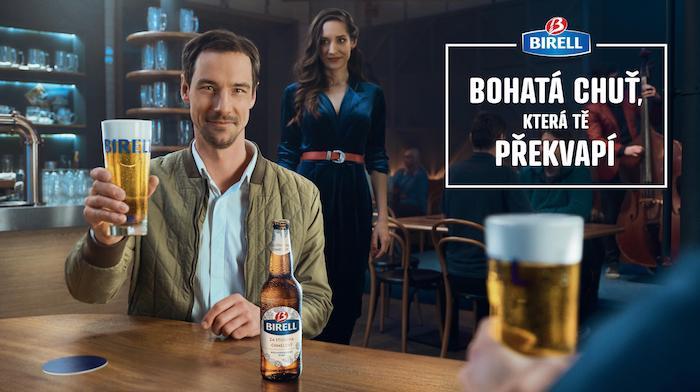 Klíčový vizuál nové kampaně značky Birell, zdroj: Plzeňský Prazdroj
