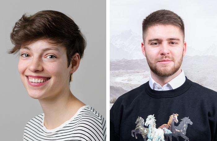 Andrea Michel a Matěj Buďárek, MarketUp, zdroj: Young Lions