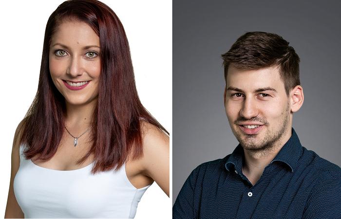 Lenka Šuhájková a Daniel Matěna, zdroj: Young Lions