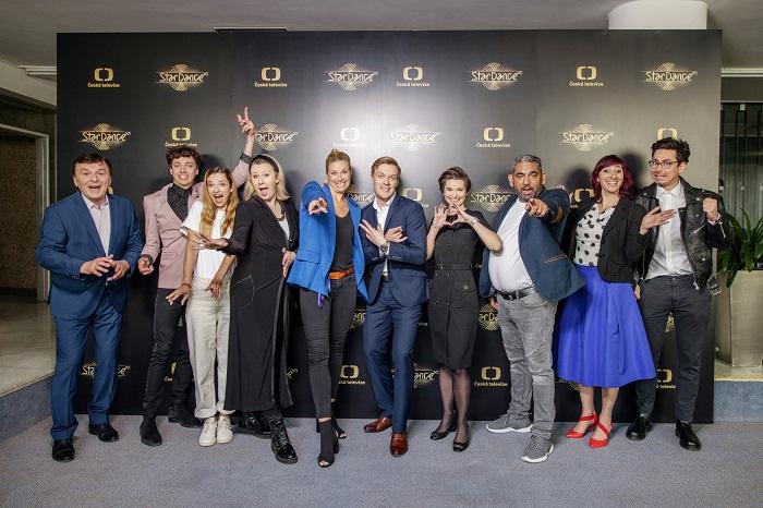 Účastníci jedenácté řady pořadu StarDance, zdroj: ČT