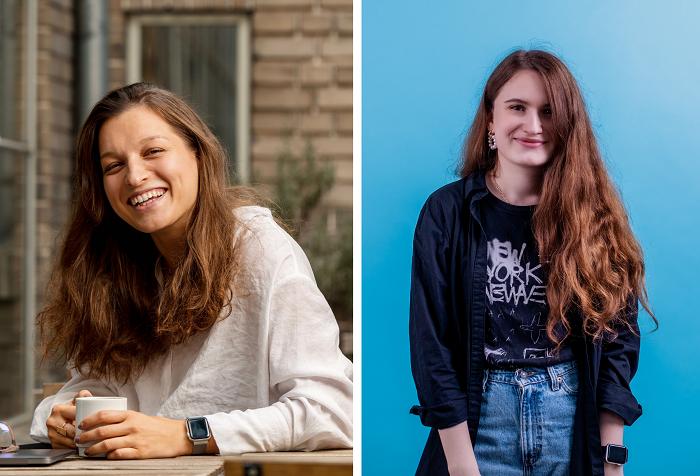 Kateřina Marešová a Alexandra Denisova, zdroj: Young Lions