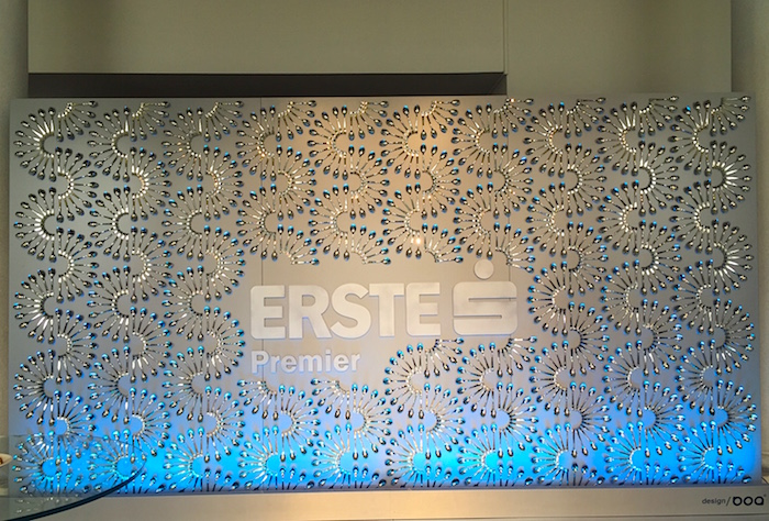 Výzdoba Erste Premier Lounge od Boadesign, foto: MediaGuru.cz