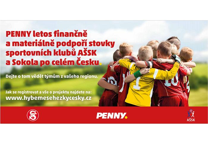 Klíčový vizuál kampaně Penny, zdroj: Penny