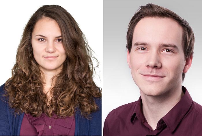 Monika Hrsková a Pavel Vykydal, zdroj: Young Lions