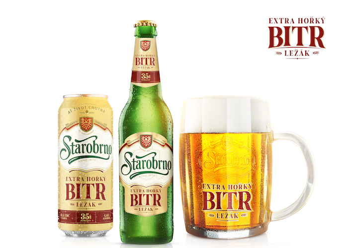 Novinka od Starobrna – hořký ležák Bitr, zdroj: Heineken