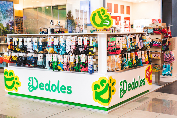 Prodejní kiosek v obchodním centru společnosti Dedoles, zdroj: Dedoles