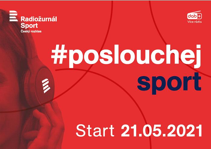 Vizuál kampaně nové stanice Radiožurnál Sport, zdroj: Český rozhlas