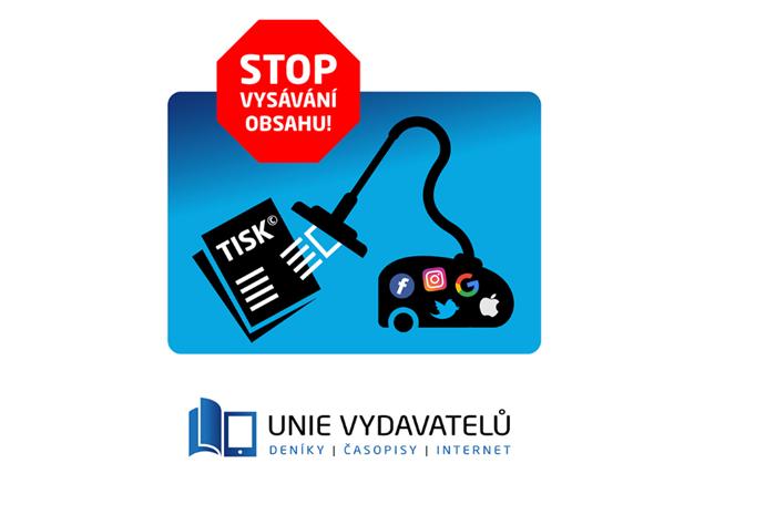 Vizuál kampaně Unie vydavatelů k Světovému dni svobody tisku, zdroj: Unie vydavatelů