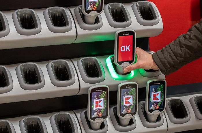 Aktuálně je nákup se skenery dostupný na 38 prodejnách, zdroj: Kaufland