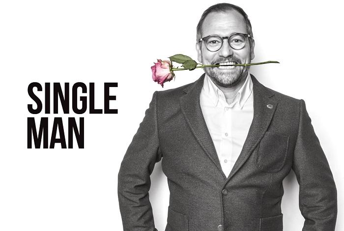 Marek Taclík jako ústřední tvář seriálu Single Man, foto: Mafra