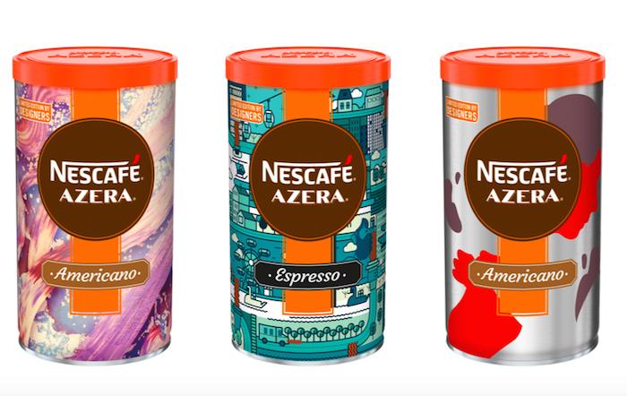 Designérská edice značky Nescafé Azera, foto: Nescafé