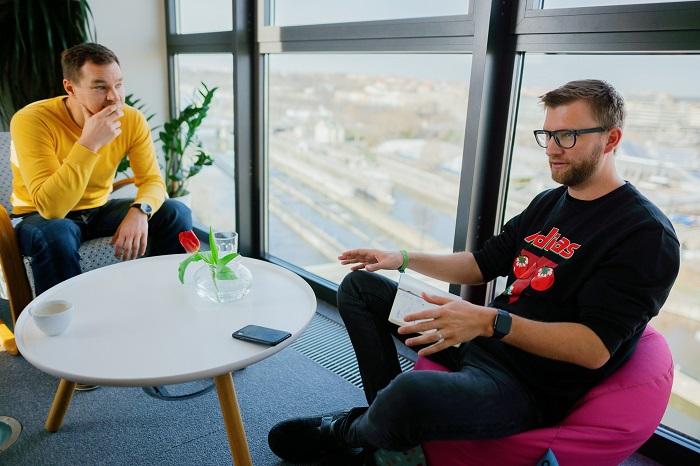 Martin Půlpitel a Josef Gattermayer, spoluzakladatelé Ackee, foto: Jan Hromádko