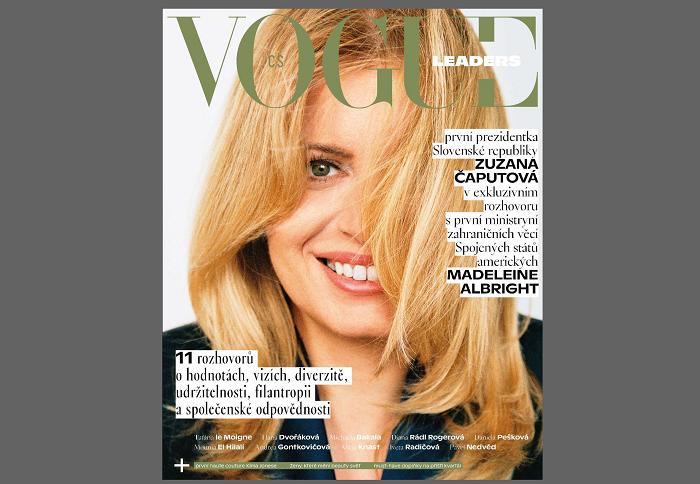 Vogue Leaders ukázal obálku, v prodeji je od 13. května