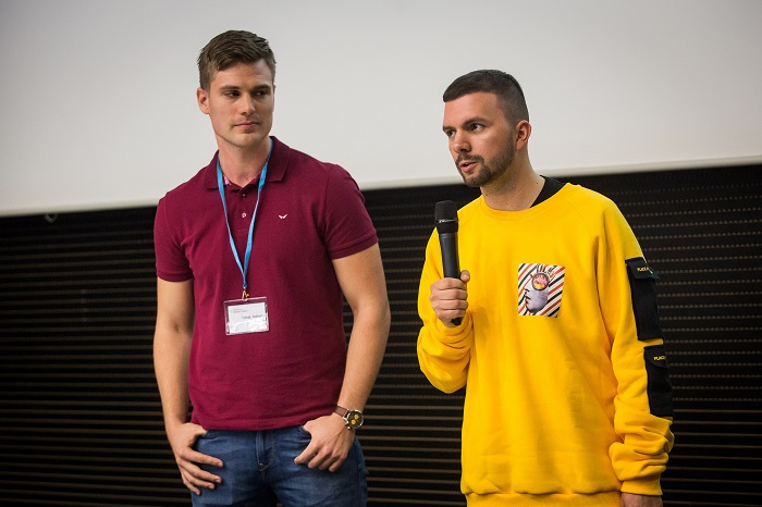 Tomáš Hofmann a Peter Hajduček na Internet Jungle 2017, foto: Blue Events