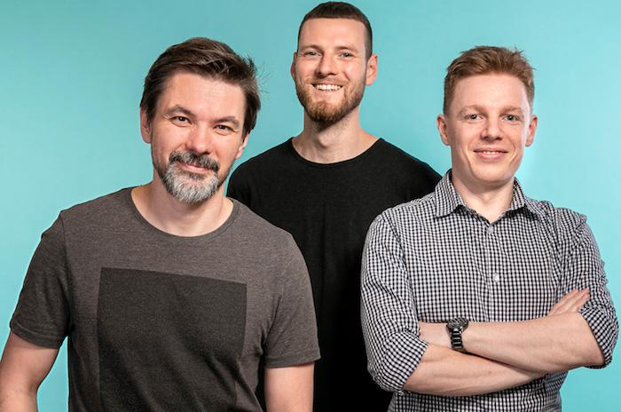 Zakladatelé studia Semibold (zleva): Pavel Čada, Štěpán Landa a Tomáš Mikulík, zdroj: Near & Dear Group