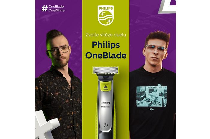 Philips zapojil do kampaně influencery, zdroj: Philips