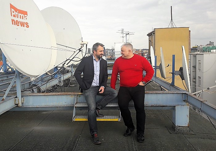 Vladimír Pořízek a Ladislav Dianiška, foto: FTV Prima