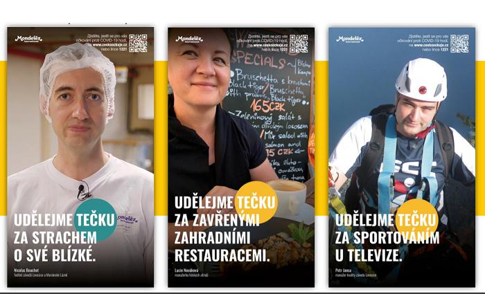 Adaptace kampaně společností Mondelez, zdroj: Cesta ven