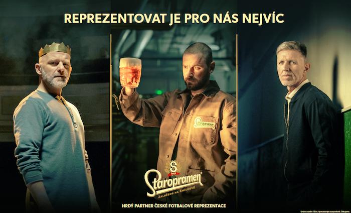 Hynek Čermák, Jan Špaček a Jaroslav Šilhavý v nové kampani Staropramenu, zdroj: Pivovary Staropramen