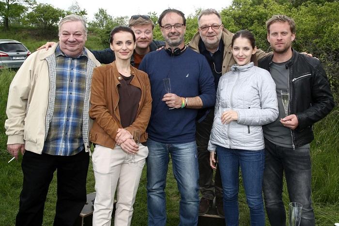 Herci na natáčení seriálu Dvojka na zabití, zdroj: FTV Prima