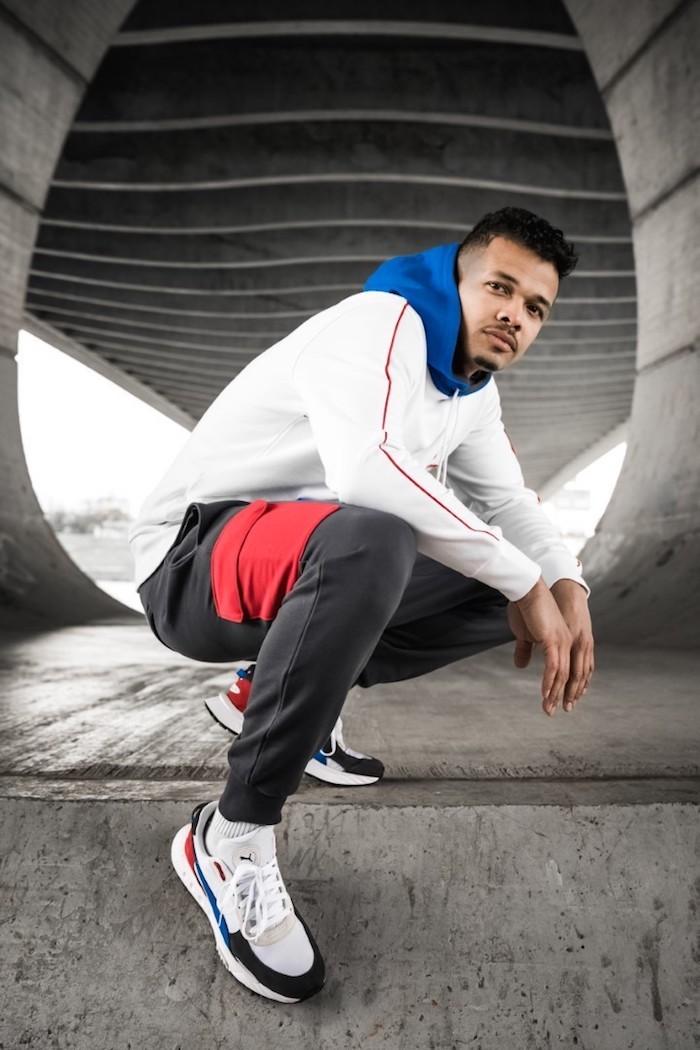 Ben Cristovao je tváří lokální kampaně na boty Wild Rider, zdroj: Puma