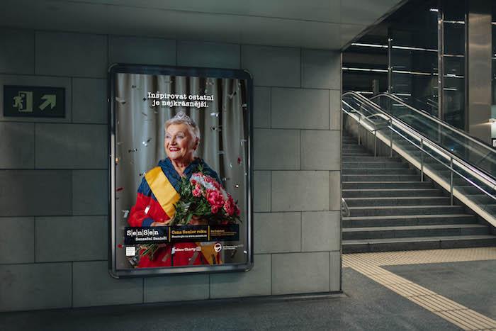 Tváří kampaně se stala loňská vítězka Ceny Senior roku Eva Trejbalová, zdroj: ADC.