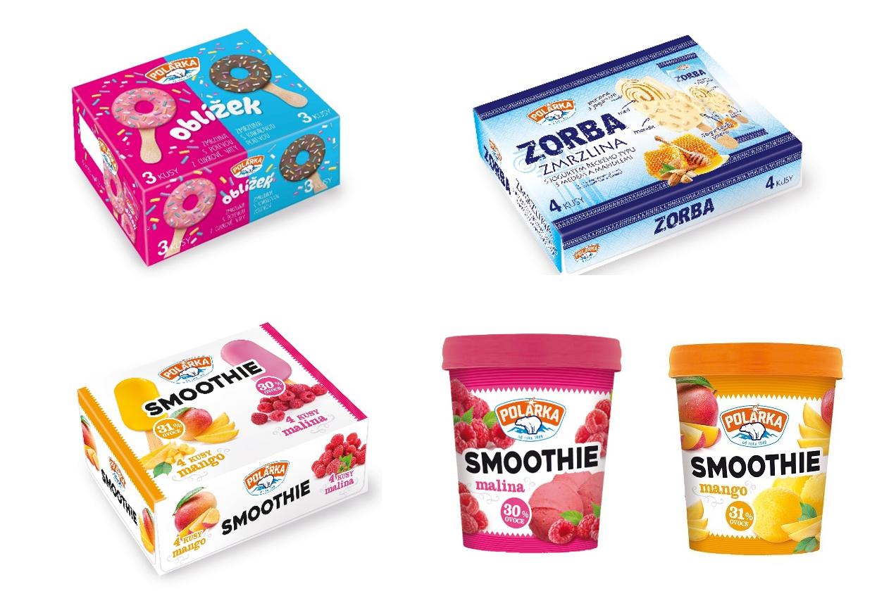 Polárka má nově většinu zmrzlin dostupnou v rodinných baleních, zdroj: Alimpex Food