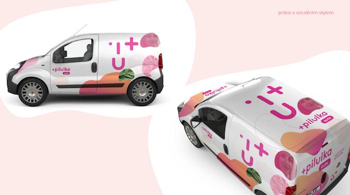 Nový polep aut, zdroj: Pilulka